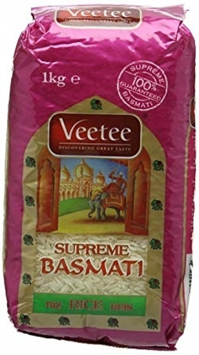 Picture of Veetee Supreme Basmati Rice 1kg
