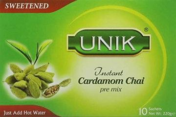 Picture of Unik Instant Cardamom Chai (Sweetened) 10 Sachets 220g