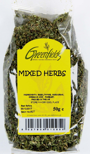 Picture of Greenfields Mixed Herbs 50g