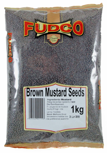 Picture of Fudco Brown Mustard Seeds 1Kg