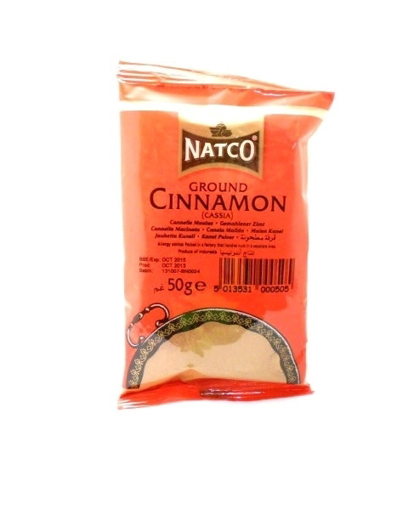 Picture of Natco Ground Cinnamon (Cassia) 50g
