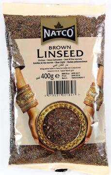 Picture of Natco Brown Linseed 400g