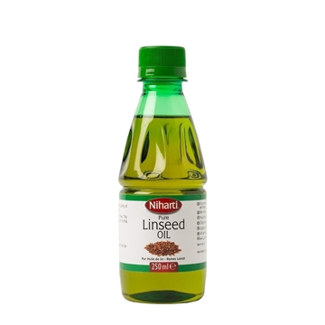 Picture of Niharti Linseed (Alsi, Flax)  Oil 250ml