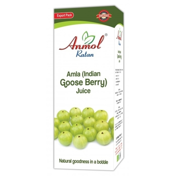 Anmol Ratan Organic Amla (Indian Goose Berry) Juice 480ml