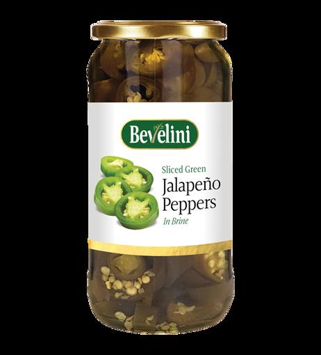 Bevelini Jalapeno Peppers In Brine 480g