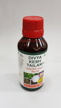 Patanjali Divya Kesh Tailam Plus (Herbal Oil) 100m