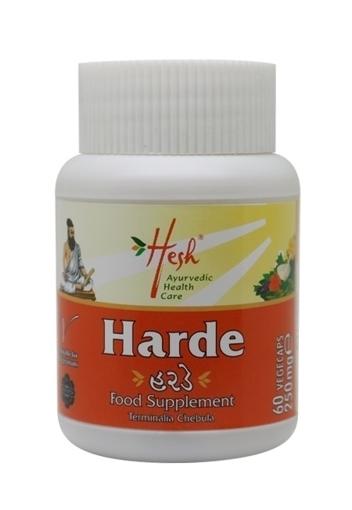 Picture of Hesh Organic Harde (Terminalia Cgebula) 60 Capsule