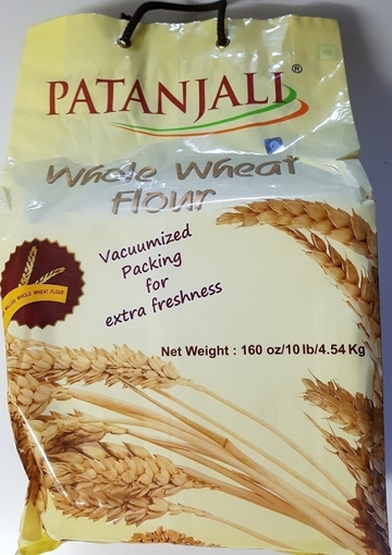 Patanjali Whole Wheat Flour 4.54Kg