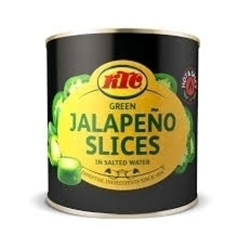 Picture of KTC Jalapeno Slices in Salted Water 210g