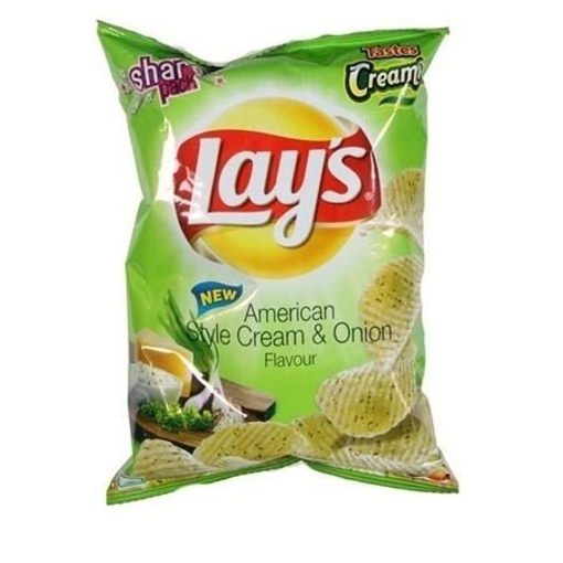 Lay's American Style Cream & Onion Potato Chips 52g