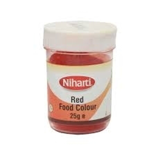 Picture of Niharti Red Food Colour 25g