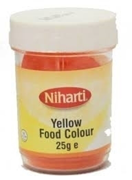 Niharti Yellow Food Colour 25g