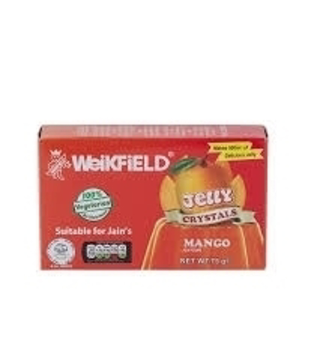 Picture of Weikfield Jelly Crystals Mango 75g