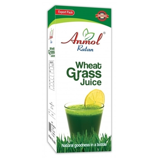 Anmol Ratan 100% Organic Wheatgrass Juice 480ml