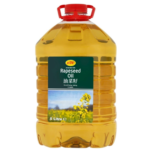 Picture of KTC Rapeseed Oil 5Ltr