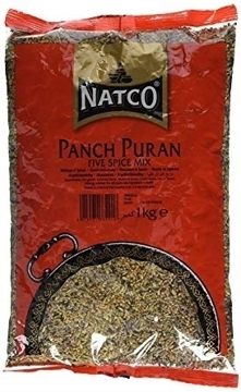 Picture of Natco Punch Puran (5 Whole Spices) 1Kg