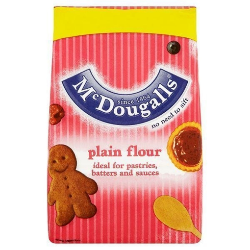 Picture of McDougalls Plain Flour 1.25Kg £1.50 PMP