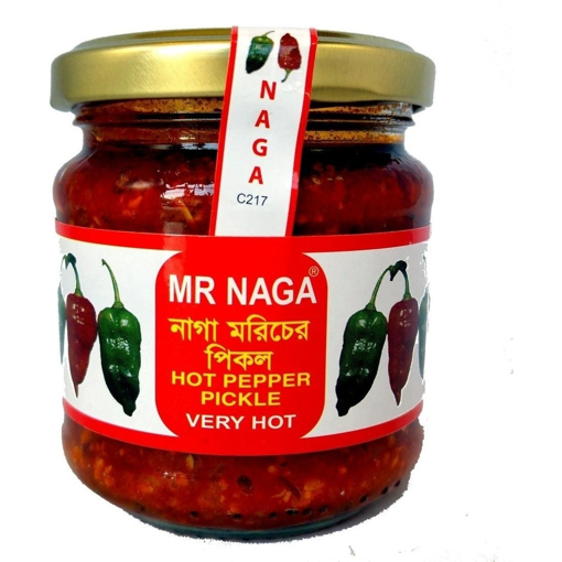 Picture of Mr.Naga Hot Pepper Pickle 190g