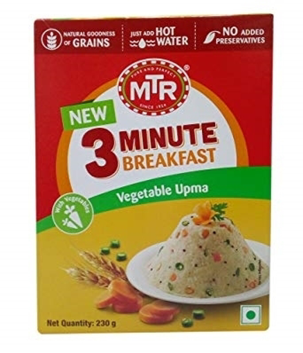 Picture of MTR 3 Minute Breakfast Vegetable Upma 230g