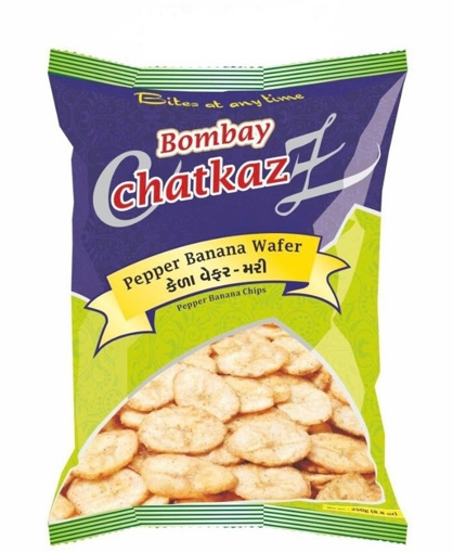 Bombay Chatkaz Pepper Banana Wafer 250g