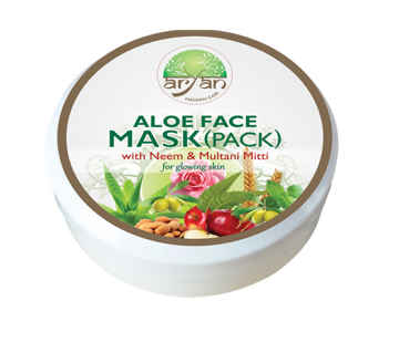 Aryan Aloe Face Mask(Pack) 200g