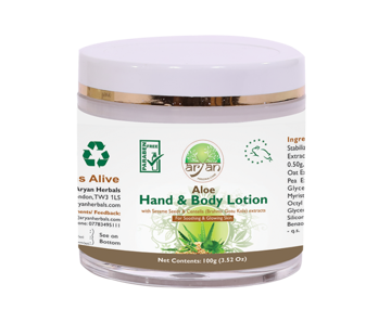 Aryan Aloe Hand & Body Lotion 100g