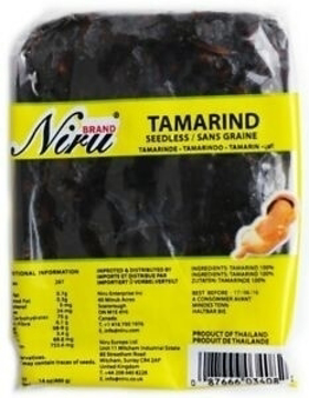 Niru Tamarind Seedless 200g