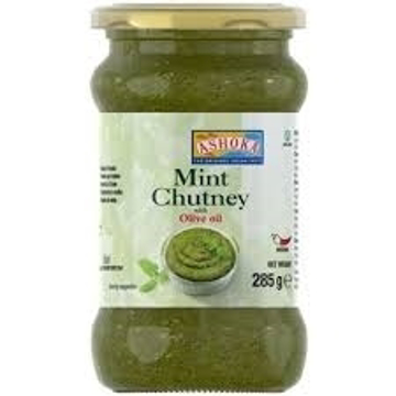Picture of Ashoka Mint Chutney with Olive Oil 285g