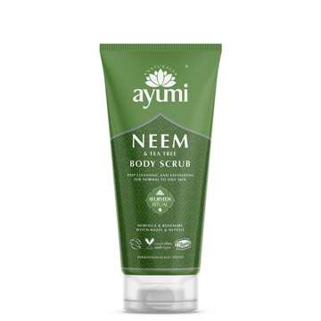 Ayumi Neem & Tea Tree Body Scrub 200ml