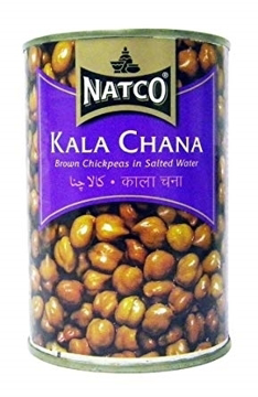 Natco Kala Chana Tin 400g
