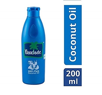 Parachute Coconut Oil Bottle 200ml
