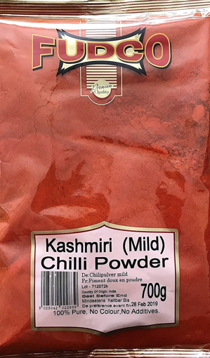 Fudco Kashmiri (Mild) Chili Powder 700g