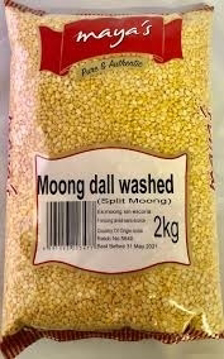 Maya's Moong Dal Washed (Split Moong) 2Kg
