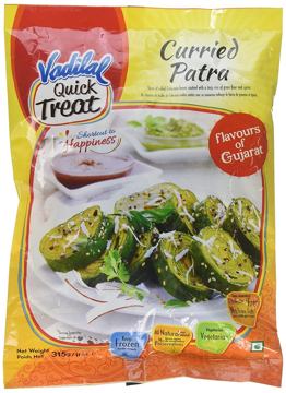 Vadilal Curried Patra Frozen 284g