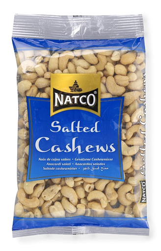 Natco Oven Baked & Salted Cashews 150g