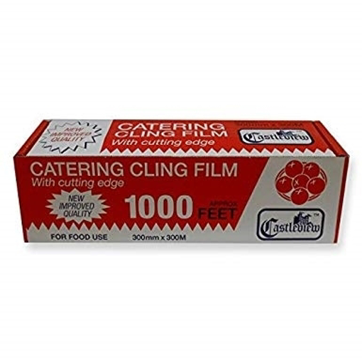 Castlebrew Catering Clig film 300mm x 300mm