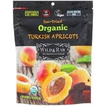 Organic Turkish Apricots 142g