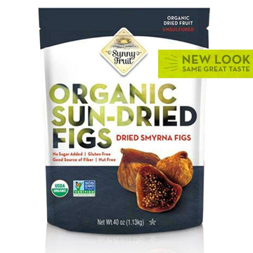 Sunny Fruit Organic Sun-Dried Figs 1.13kg
