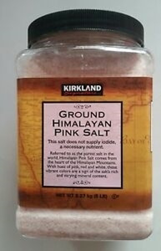 Kirkland Ground Himalayan Pink Salt 2.27kg