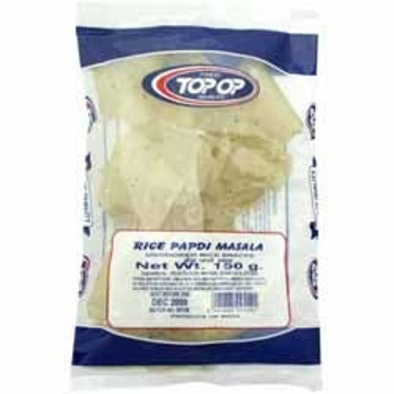 Top-Op Rice Papdi Masala 150g