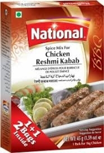National Chicken Reshmi Kebab Spice Mix 50g