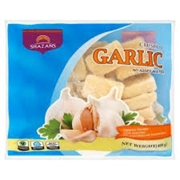 Shazans Crushed Garlic Cube 400g