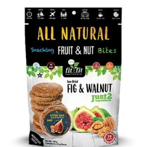 Organic Nexus Fig & Walnuts Bites 150g