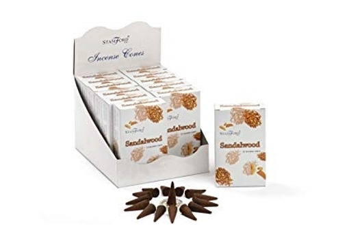 Stamford Sandalwood 15 Incense Cones