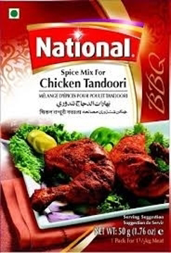 National Chicken Tandoori Spice Mix 50g