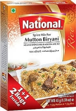 National Mutton Biryani Spice Mix 45g