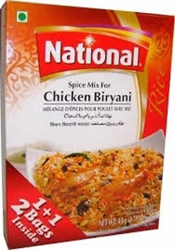 National Chicken Biryani Spice Mix 45g