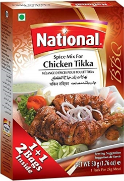 National Chicken Tikka Spice Mix 50g
