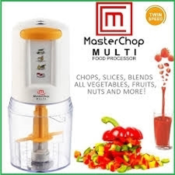 MasterChop Multi Food Processor HFP 601