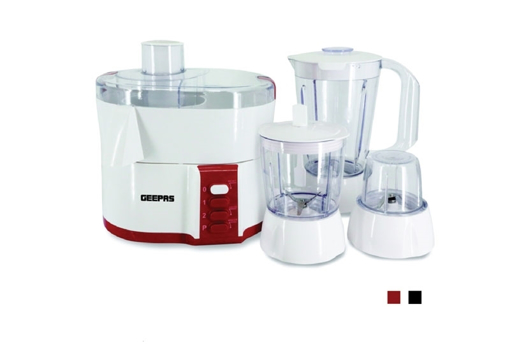 Geepas 4 In 1 Food Processor Set